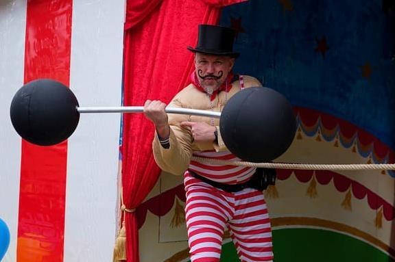 Артист цирка